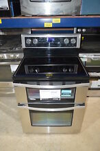 Whirlpool WGE745C0FS 30  Stainless Double Oven Electric Range NOB  7934 CLW