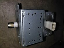 8FF68 LG LCRT2010ST MICROWAVE OVEN MAGNETRON  LG 2M246  0 6 OHM  SHORT TESTED