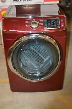 Samsung DV42H5400EF 27  Red Front Load Electric Dryer NOB  12725 Clawson