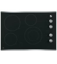 GE JP3530SJSS 30  Stainless Smoothtop Electric Cooktop NOB  23127