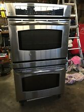 GE Profile  30  Built In Double Convection Thermal Wall Oven for Pick up