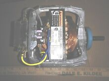 8HH19 MAYTAG DRYER MOTOR 6 3033580 7  1 4 HP  115VAC  4 5A  1725RPM  NEW OTHER