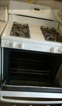 USED White Kitchen Stove 4 burners  Decent Condition    GE