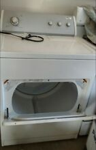 Pre Owned Whirlpool Dryer Machine   White  decent condition