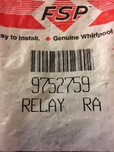 NEW Genuine FSP 9752759 Oven Double Line Relay For Whirlpool WP9752759