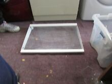 KENMORE FRIGIDAIRE REFRIGERATOR LARGE SHELF WITH GLASS PART  240373104 240443906
