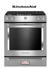 KitchenAid KSGG700ESS 30  Stainless Slide In Convection Range oven