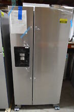 Whirlpool WRS321SDHZ 33  Stainless Side by Side Refrigerator NOB T2  23486