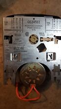 White Westinghouse Frigidaire Washer Timer Q634561  T09