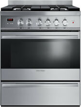 Fisher Paykel OR30SDBMX1 30  Stainless Freestanding Gas Range NIB  23564