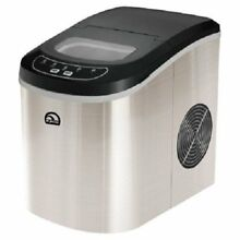Ice Cube Maker Making Igloo Compact Portable Delux Mini ICE105 Counter Top Steel