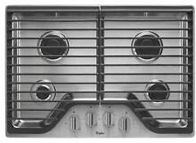 Whirlpool WCG51US0DS 30  gas cooktop Stainless NIB  629