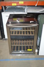 Insignia NS WB44SS8 24  Stainless Built In Wine Refrigerator NOB  23651
