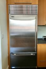 Sub Zero 650 Refrigerator  36  stainless steel built in