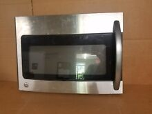 GE MICROWAVE DOOR ASSEMBLY PART  WB55X10947