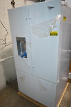 Whirlpool WRF992FIFH 36  White French Door Refrigerator NOB  23870