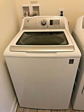 GE White 4 6 cu  ft  Top Loading Washer  GTW680BSJWS   PICKUP ONLY