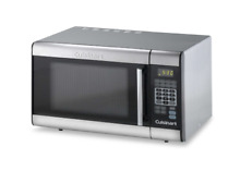 Cuisinart Stainless Steel Microwave Oven 2 Defrost Functions Wipe Clean 1000 W