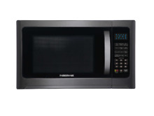 Farberware 1 2 cu  ft  Microwave Oven With Grill Function in Black 1200 Watts