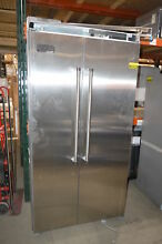 Viking VCSB5423SS 42  Stainless Side by Side Refrigerator NOB  24194