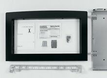 GE Deluxe Built In 30  Microwave Oven Trim Kit JX2130BH Black