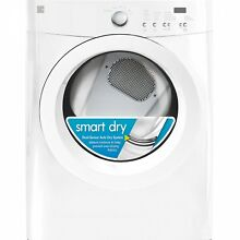7 0 Cu  Ft  Electric Dryer W  Wrinkle Guard   White