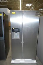 Samsung RS25J500DSR 36  Stainless Side by Side Refrigerator NOB  24524 HL