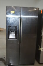 Samsung RS25J500DSG 36  Black Stainless Side by Side Refrigerator NOB  24555 HL