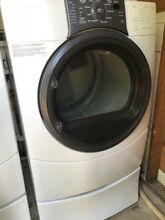 Kenmore HE Washer and Dryer Frontloading with Pedastals