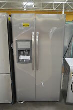 Frigidaire FFSS2625TS 36  Stainless Side by Side Refrigerator NOB  24627 HL