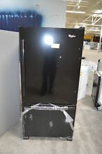 Whirlpool WRB329DMBB 30  Black Bottom Freezer Refrigerator NOB  24424 HL