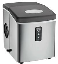 Igloo ICE103 Counter Top Ice Maker with Over Sized Bucket  Stainless Steel