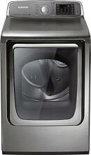 Samsung 7 4 Cu  Ft  15 Cycle Steam Gas Dryer   Stainless