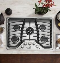 GE Profile PGP959SET Stainless Steel 30 in  Gas Gas Cooktop