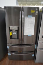 LG LMXS28626D 36  Black Stainless French Door Refrigerator NOB  25243 HL