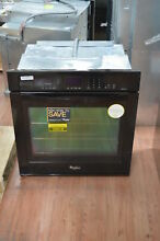 Whirlpool WOS92EC7AB 27  Black Single Electric Wall Oven NOB  25018 HL