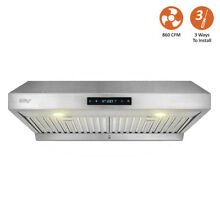 BV Touch Screen 860 CFM 30  Stainless Kitchen Range Hood Under Cabinet RH 201 R