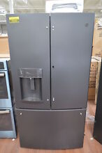 GE GFD28GELDS 36  Black Slate French Door Refrigerator NOB  25363 HL
