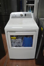 GE GTD75ECSLWS 27  White Front Load Electric Dryer NOB  25398 CLW