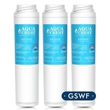 AQUACREST GSWF Refrigerator Water Filter for GE GSWF SmartWater 238C2334 3Pack