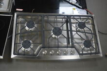 GE ZGU385NSMSS 36  Stainless Natural Gas Cooktop NOB  25610 HL