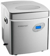 EdgeStar IP250 17 Inch Wide 2 6 Lbs  Capacity Portable Ice Maker With 48 Lbs