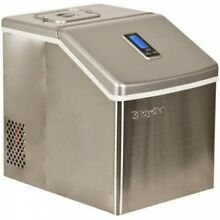 EdgeStar IP211 11 Inch Wide 2 2 Lbs  Capacity Portable Ice Maker With 20 Lbs