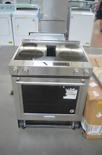 KitchenAid KSEG950ESS 30  Stainless Slide In Electric Range NOB  25678 HL