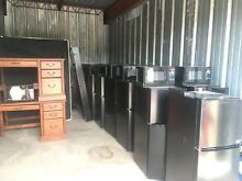 Storage Unit Lot Mini Fridge Microwave beds  lamps  Armoires