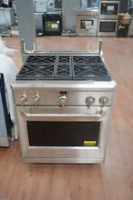GE Monogram ZGP304NRSS 30  Stainless All Gas Range NOB  25754 HL