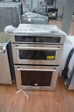 KitchenAid KOCE507ESS 27  Stainless Combination Wall Oven NOB  25757 HL