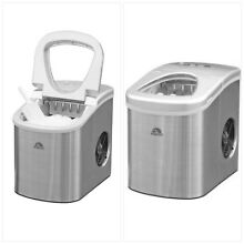 Compact Ice Maker Machine Kitchen Counter Top  Electronic LED Control Settings
