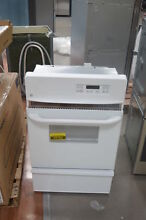 GE JGRP20WEJWW 24  White Single Gas Wall Oven NOB  25783 HL