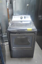 GE GTD65EBPLDG 27  Diamond Gray Front Load Electric Dryer NOB  25550 HL